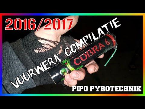 Vuurwerk Compilatie 2016 2017 oud en nieuw