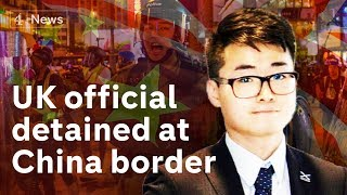 Hong Kong: UK consulate worker detained at China border
