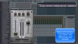 images FL Studio Tutorial Removing Vocal From A Song The Easy Way With Waves Plugin Center Stereo