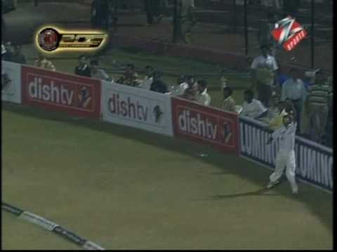 Imran Nazir 83 38 balls v Mumbai ICL 20 20 Championship 08
