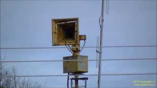 Early Federal Sign & Signal Thunderbolt 1003, Hi-Lo (Fire) Signal - Silverstreet, SC 12/28/13