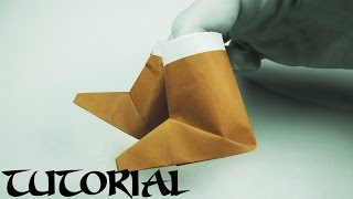Easy Origami Boots Tutorial