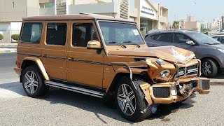 Latest Car Accident of Mercedes Benz G Class - Road - Crash - Compilation - Traffic - 2016 - 2017
