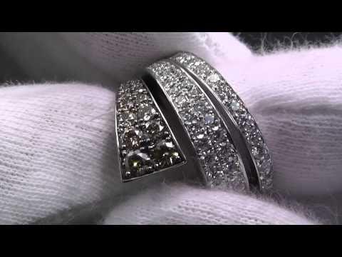 Xxx Mp4 K18WGリング ダイヤ付デザインリング BD0 70 D1 15 程度A 3gp Sex