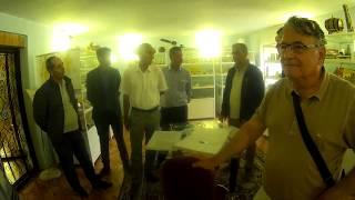 Turkish Beekeepers Were Surprised at Beekeeping Museum of Ukraine in Kiev