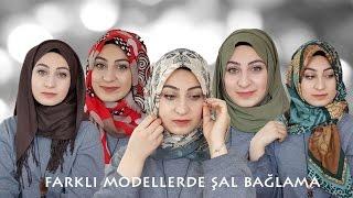 Farklı Şal Bağlama Modelleri│Anneannemin Şalları │Hijab Tutorial