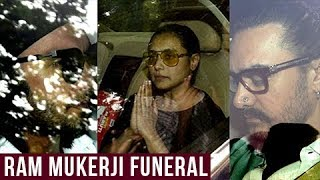 RANI MUKHERJI FATHER Ram Mukerji Passes Away: Ranveer Singh, Aamir Khan and others Pay Condolences