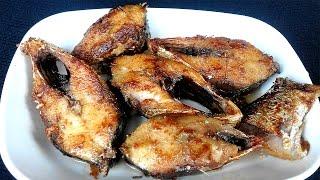 Ilish Mach Vaji Rannar Recipe - 4   ইলিশ মাছ ভাজি রান্নার রেসিপি   হিন্দুদের বিয়ে বাড়ির রান্না - ৪