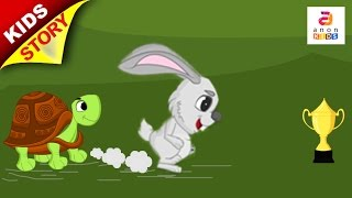 English Stories For Kids | Tortoise and The Hare | Kids Moral Stories | Animated Stories For Kids