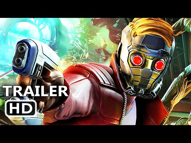PS4 - Marvel's Guardians of the Galaxy Trailer (Telltale Video Game)