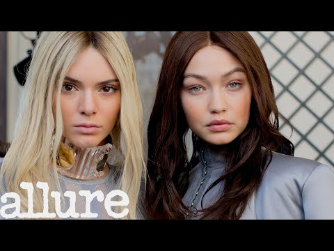 Kendall Jenner and Gigi Hadid Take Us Backstage With the Balmain Army Allure