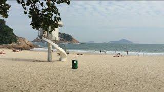 Shek O beach Hong Kong.