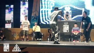 Hozin vs DANDY | Poppin Solo Final | Daejeon, South Korea Poppers jam sesseion vol.1
