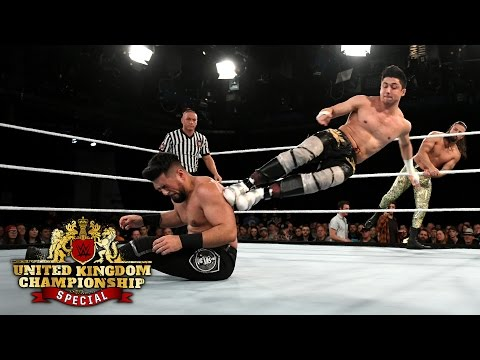 Rich Swann & Dan Moloney vs. The Brian Kendrick & TJP: WWE U.K. Championship Special, May 19, 2017