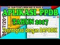 Download Video Download APLIKASI PPDB Tahun 2018 Terintegrasi dengan DAPODIK (HD) 3GP MP4 FLV