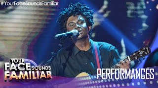"""Your Face Sounds Familiar: Michael Pangilinan as Tracy Chapman - """"Baby Can I Hold You"""""""