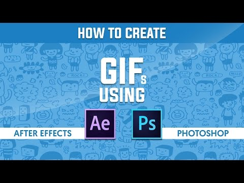 How to Create Animated GIF in After Effects and Photoshop