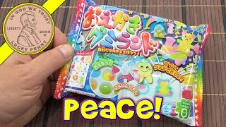 Kracie Colorful Peace Gummy DIY Japanese Candy Making Kit - Update Video