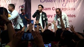 Sam Concepcion - Mahal na Mahal (Official Live Performance Video @ Market Market 02/14/15)