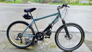 my low budget electric bike from scrap