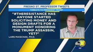 PSYCHO LIBERAL ALERT: Leftist Professor Calls for Trump Murder