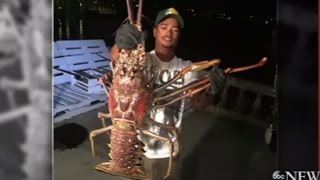 Monster Lobster Caught After Hurricane Nicole