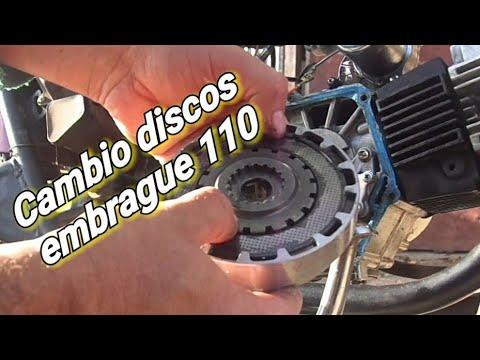 Reemplazo de embreague moto 110 cc facil y practico