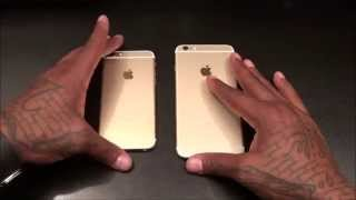 iPhone 6 and iPhone 6 Plus Unboxing (GOLD)