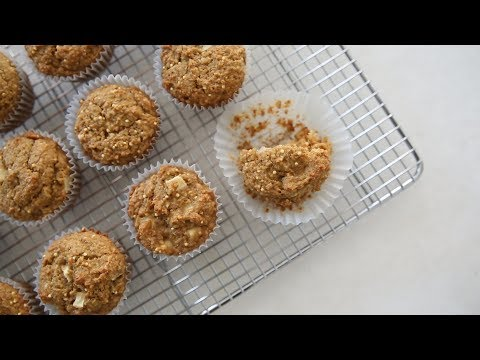 Double-Apple Bran Muffins- Healthy Appetite with Shira Bocar