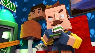 Minecraft - HE WILL NEVER RUN AWAY FROM ME! (Hello Neighbor in Minecraft)