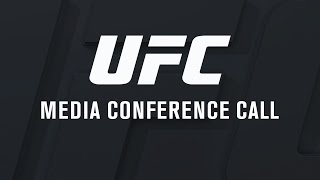 UFC 206: Holloway vs Pettis Media Conference Call