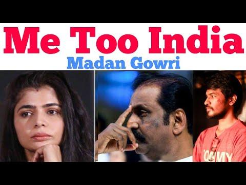 Xxx Mp4 ME TOO Tamil Chinmayi Vairamuthu Madan Gowri MG 3gp Sex