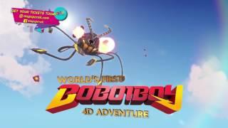 MAPS Theme Park - World's 1st BoBoiBoy 4D Adventure