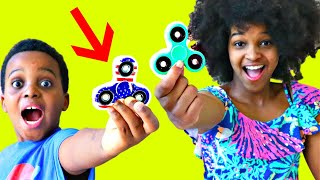 FIDGET SPINNER IN TOILET!  - Bad Baby Shasha and Shiloh - Onyx Kids