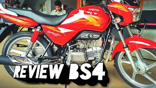 Hero SPLENDOR PRO BS4 2017 DETAILED REVIEW |IN HINDI