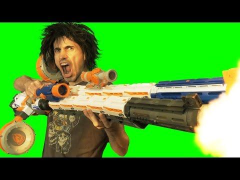 BIG BAD NERF GUNS 4K Remix