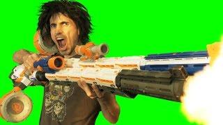 BIG ASS NERF GUNS!! 4K Remix