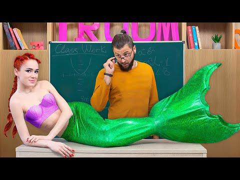 Mermaid at College 8 DIY Mermaid College Supplies
