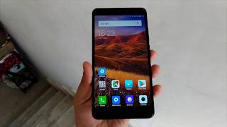 Xiaomi Mi Max 2 [Matte Black] [India] Hands On and First Impression