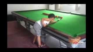 Next Ronnie O'Sullivan? Chinese 3-year-old Snooker Prodigy