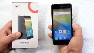 Symphony i60 unboxing & Quick Specs Overview with Camera Sample