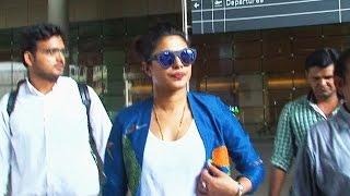 Priyanka Chopra Spotted At Mumbai Airport