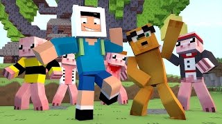 Minecraft: HORA DE AVENTURA - OS FEIJÕES MÁGICOS!