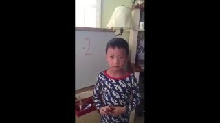 Little boy fails adding two numbers: 1+2=