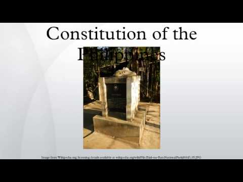 watch Constitution of the Philippines