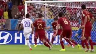 BBC FIFA World Cup 2014 Spain vs Chile montage
