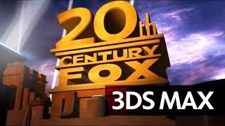 3Ds Max: 20th Century FOX Intro - Full HD, Optimized