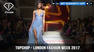 Hailey Clauson Topshop September 2017 Collection London Fashion Week | FashionTV | FTV