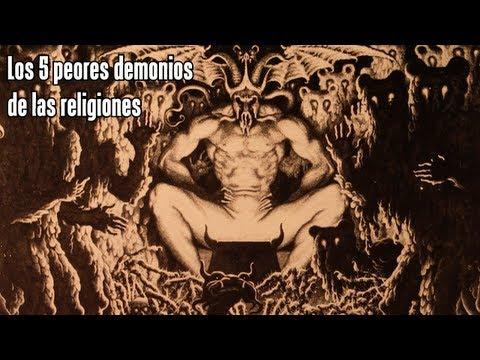 TOP LOS 5 DEMONIOS MÁS PELIGROSOS DE LAS RELIGIONES