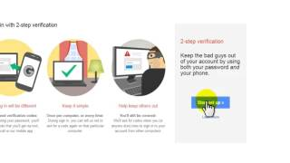How to enable 2 Step Verification in Gmail- Bangla Tutorial /জিমেইল  2স্টেপ ভেরিফিকেশন